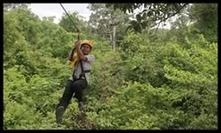 FOREST ZIPLINING AT ANGKOR